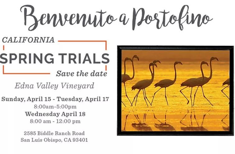 California Spring Trials